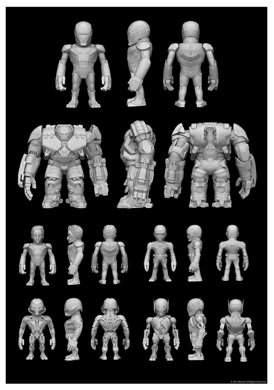 3D Model Scalptor #2